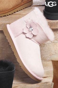 UGG® Kids Pink Mini Poppy Boot