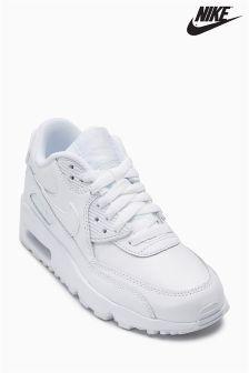 Nike White Air Max 90 Leather