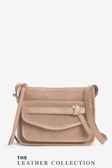 Leather Knot Detail Bag