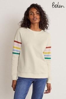 Boden White The Sweatshirt