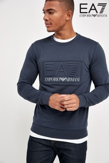 Emporio Armani EA7 Embossed Sweater