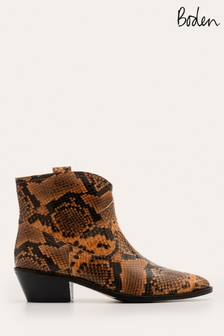 Boden Brown Allendale Ankle Boots