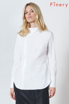 Finery London White Delilah Shirt