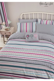 Helena Springfield Trixie Stripe Duvet Cover and Pillowcase Set
