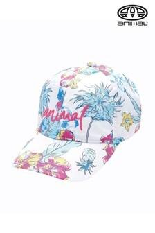 Animal White Summertide Cap