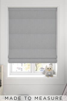 Nestor Dove Grey Made To Measure Roman Blind