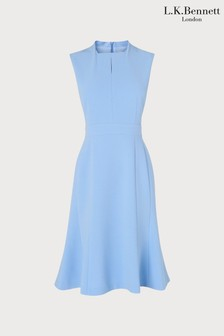 L.K.Bennett Blue Lou Dress