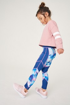 Butterfly Sports Leggings (3-16yrs)