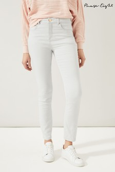 Phase Eight Grey Ismay Skinny Jeans