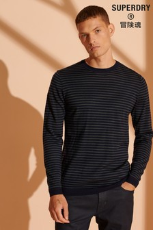 Superdry Merino Lightweight Crew Jumper