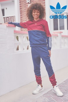 adidas Originals Burgundy/Navy SPRT Joggers