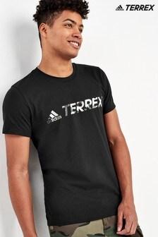 adidas Black Terrex Logo T-Shirt
