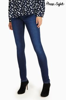 Phase Eight Dark Indigo Smart Aida Jean