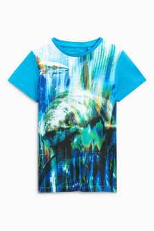 Glitch Shark T-Shirt (3-16yrs)