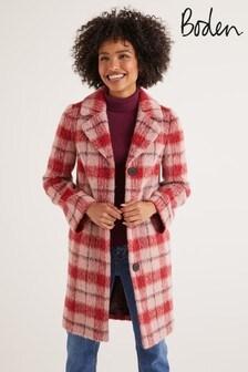 Boden Pink Boudica Coat