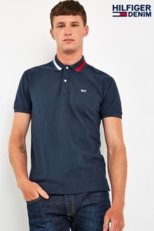 Tommy Jeans Flag Neck Polo