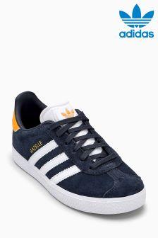 adidas Originals Grey/Yellow Gazelle