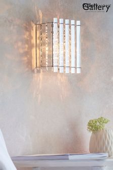 Gallery Direct Silver Kimbie Wall Light