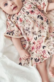 Floral Woven Dress (0mths-2yrs)
