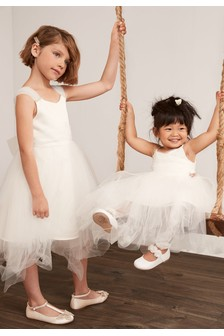 Pearl Shoulder Bridesmaid Dress (3-16yrs)