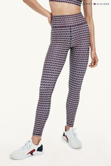 Tommy Hilfiger Red High Waist Leggings