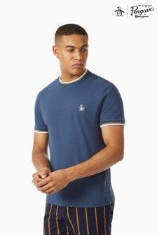 Original Penguin® Short Sleeve Sticker Pete Ringer Pete T-Shirt