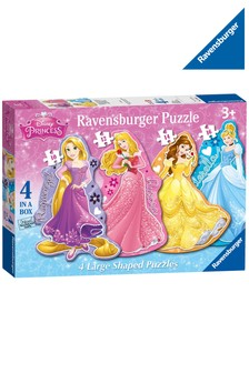 Ravensburger Disney™ Princess 4 Large Shaped Jigsaw Puzzles