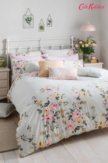 Cath Kidston® Vintage Bunch Floral Cotton Duvet Cover and Pillowcase Set