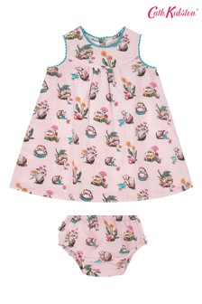 Cath Kidston Pink Baby Eleanor Mini Garden Club Dress