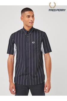 Fred Perry Fine Stripe Short Sleeve Shirt