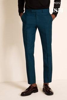 Moss 1851 Slim Fit Dark Teal Trousers