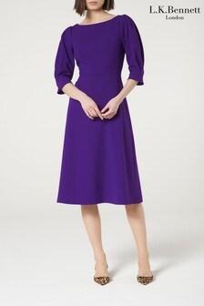 L.K.Bennett Purple Lemoni Dress