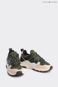 Tommy Hilfiger Green Sporty Chunky Trainers