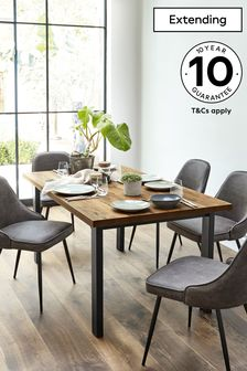 Bronx 6 8 Seater Extending Dining Table