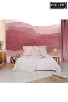 Eighty Two Blush Ink Wall Mural