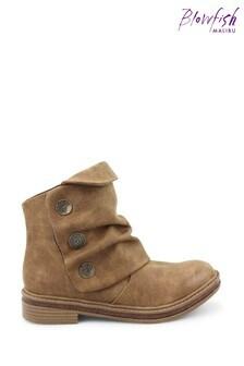 Blowfish Brown Kay-Kay B Vegan Ankle Boots