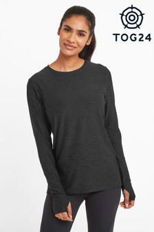 Tog 24 Grey Coulby Womens Long Sleeve Tech T-Shirt