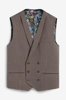 Dogtooth Suit: Waistcoat