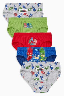 PJ Masks Briefs Five Pack (1.5-6yrs)