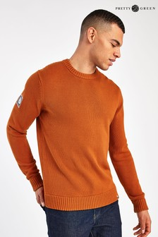 Pretty Green Crew Neck Simple Jumper