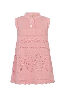 GUCCI Kids Baby Girls Pink Cotton Dress