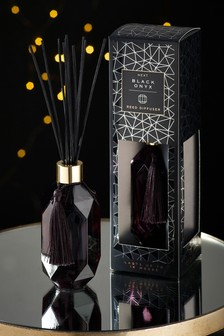 Onyx Black Faceted 180ml Diffuser