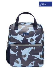 Joules Blue Adventure Rubber Backpack