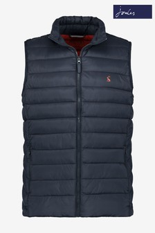 Joules Navy Go To Lightweight Barrel Gilet