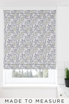 Pablo Plum Purple Made To Measure Roman Blind