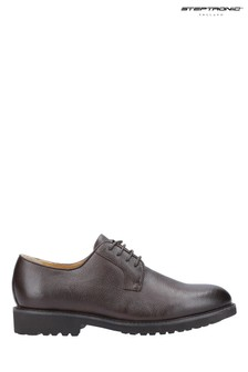 Steptronic Brown Ilford Lace-Up Derby Shoes