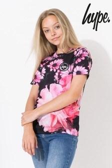 Hype. Midnight Rose Kids T-Shirt