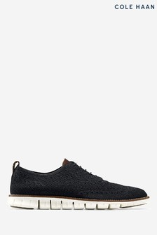 Cole Haan Black Zerogrand Stitchlite Oxford Shoes