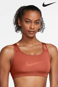 Nike Swoosh Icon Clash Medium Support Strappy Sports Bra