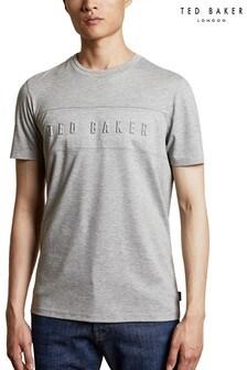 Ted Baker Grey Branded T-Shirt